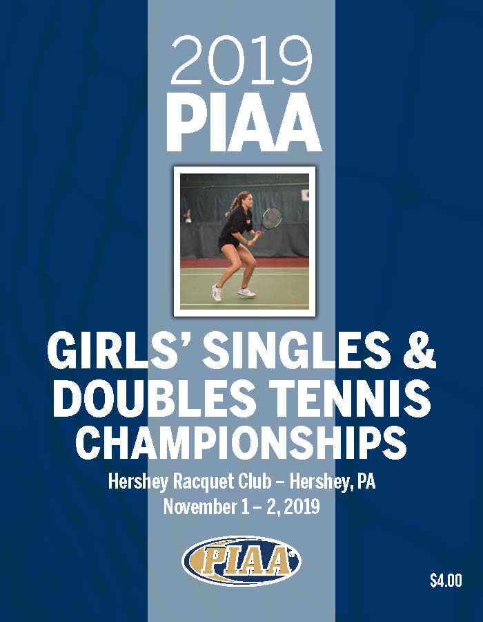 2018 Girls' Singles & Doubles Tennis Championship Program
